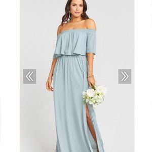 Show Me Your Mumu Hacienda Dress - Silver Sage